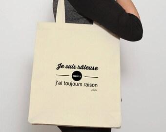 Women tote bag I am complainer