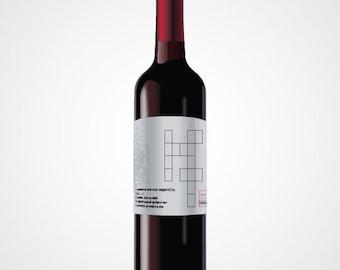 Wedding - witness - wine label - will you be my witness? Witness request