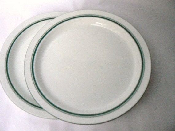 Dansk ~ RINGSTED~ Salad//Luncheon Plate ~ Green