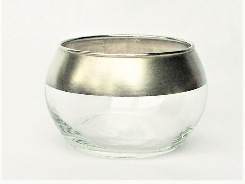 3e327ecfbc7 Dorothy Thorpe Silver Band Glass w  Sterling Silver Overlay