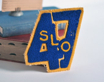 High School Varsity Patch, San Luis Obispo '47, Vintage
