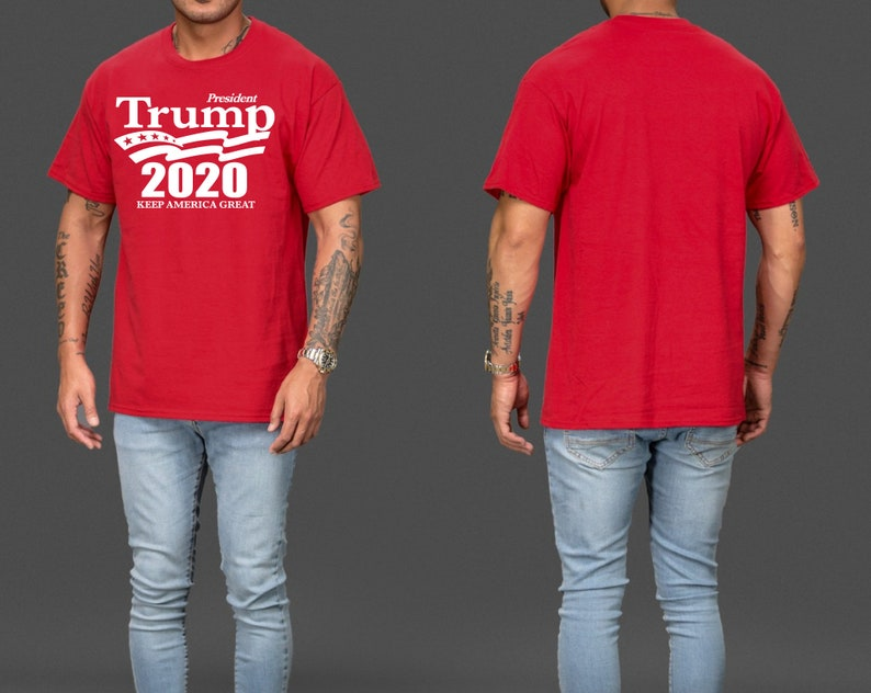 1acff299a Trump Shirts Donald Trump Shirts Trump President 2020 USA | Etsy
