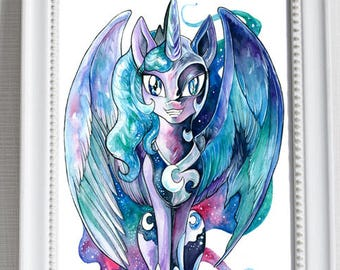 Print ~ Luna/Nightmare ~ My Little Pony