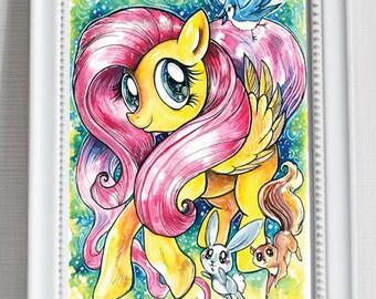 Print ~ My Little Pony ~ Fluttershy