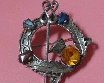 By Exquisite Celtic / Scottish Style BROOCH