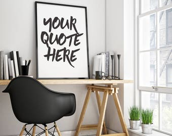 Your Quote Here - Sterling Creation Co. (Digital Print)