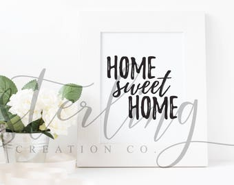 Home Sweet Home (Digital Print)