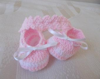 Gehäkelte Baby Flip Flops Häkeln Baby Schuhe Babyschuhe Etsy