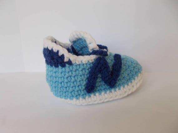 Gehäkelte Babyschuhe Baby Nike New Balance 490v3 Baby Häkeln Etsy