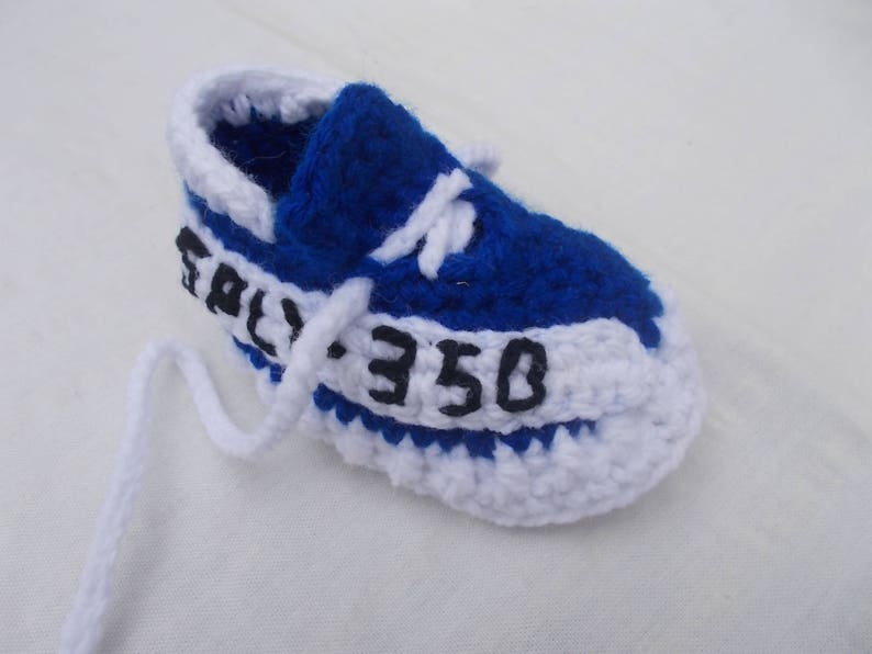 579d14f8b8cf8 Crochet Baby Shoes The Yeezy Boost 350 V2 Sneakers Baby