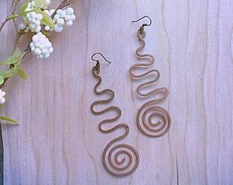 Orecchini spirale