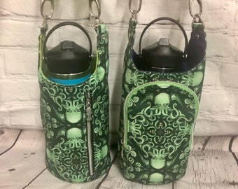 Design Your Own H2O 2GO Water Bottle Sling -2 Options-  Made to Order - You Choose the Fabrics