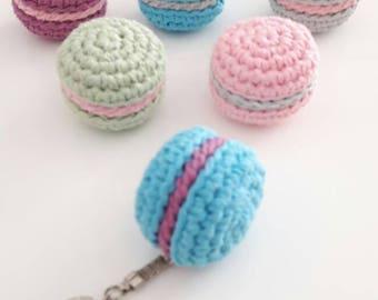 Porte cl s crochet porte cl s tui baume l vres cadeau etsy - Porte cle crochet ...