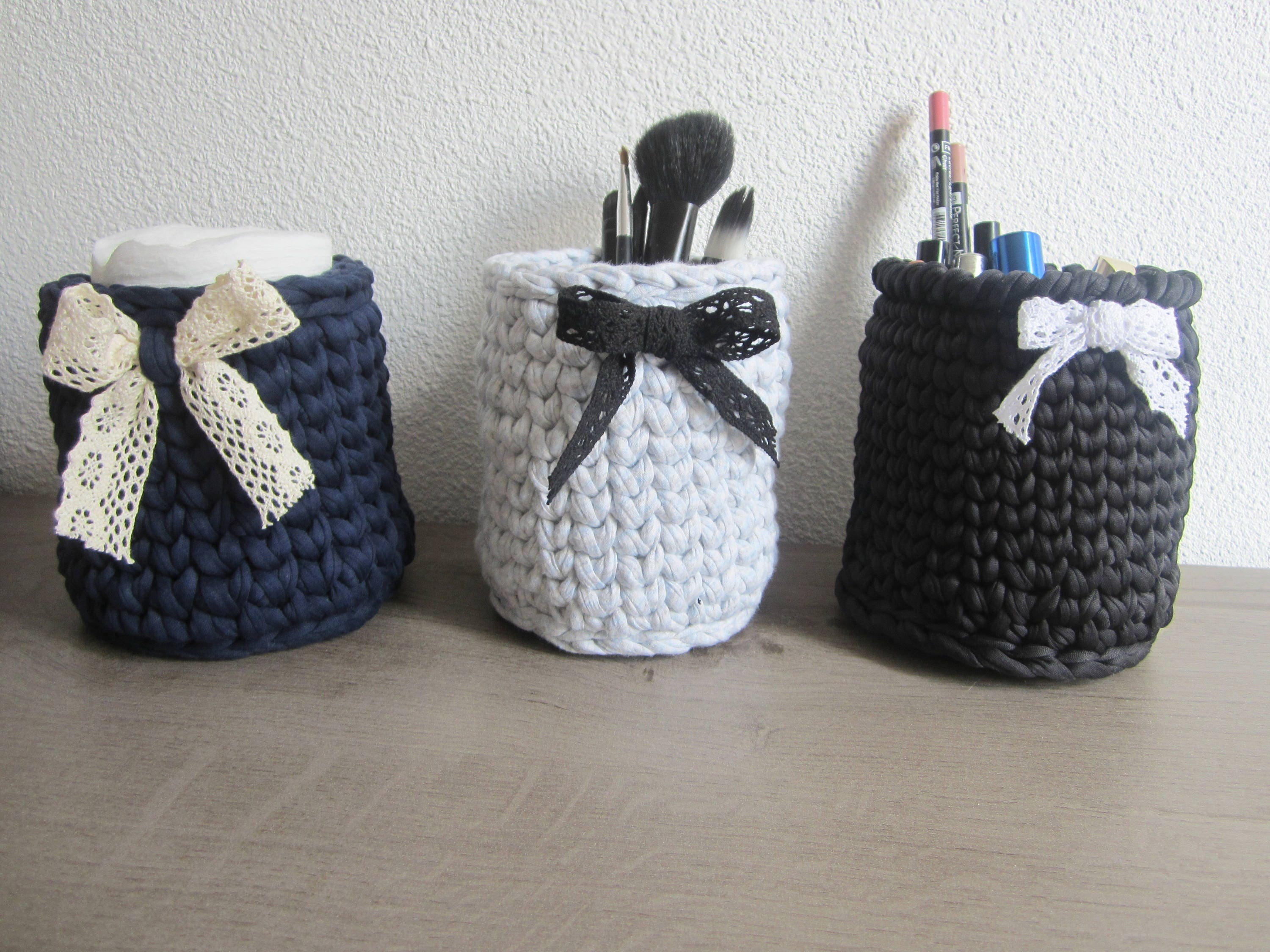 pot pinceaux maquillage rangements salle bain rangement etsy. Black Bedroom Furniture Sets. Home Design Ideas
