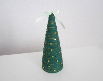 Christmas tree decoration Christmas, Christmas ornaments, small green Christmas tree, decorative tree, alternative Christmas tree