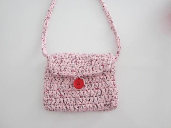 Für Kleine Mädchen Häkeln Sie Mädchen Handtasche Sling Etsy