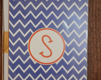 Chevron Stationery - Chevron Notecards - Personalized Notecard