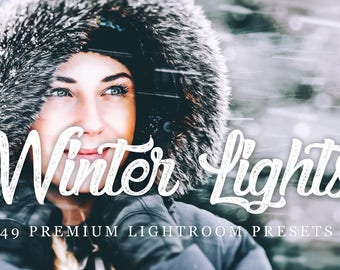 48+ Winter Lights Lightroom Presets for Creative, Weddings, Portraits, Newborns Editing