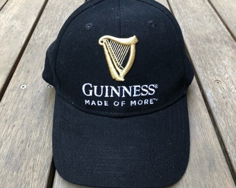 737aa45349807 Vintage 90 s Guinness Beer Embroidered Snap Back Hipster Souvenir Summer  Festival Cap Retro Hipster Streetwear Headwear Guinness Promo Cap