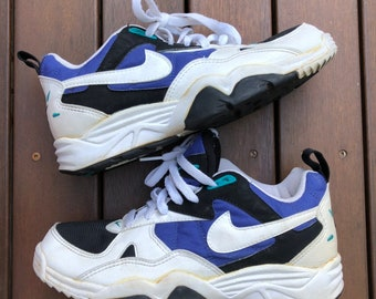 100% authentic 3e431 f6bc1 Vintage 1994 Nike Air Edge 2 Mens Cross-Training Tennis Shoes Size US 8.5  Retro Hip Hop Streetwear Nike Sportswear Sneakers Nike Air Shoes
