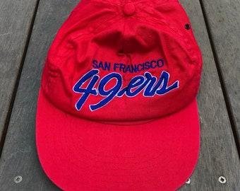 Vintage 90 s NFL San Francisco 49ers American Football Sportswear Snap Back Retro  Hip Hop Summer Streetwear Headwear USA Sports 49ers Cap 277cea4dd527