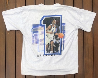 a8872b8c Vintage 90's Nike Sportswear Penny Hardaway Rare Unisex Medium T-shirt  Retro Hip Hop Nike Orlando Magic Streetwear Bball Anfernee Hardaway