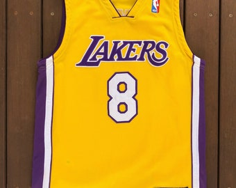 3ab36c2479c Vintage 90's NBA Los Angeles Lakers Kobe Bryant Women's Size 12 Basketball  Jersey Retro Hip Hop Lakers Streetwear Summer Festival USA Bball