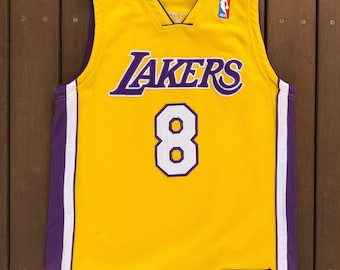 Vintage 90 s NBA Los Angeles Lakers Kobe Bryant Women s Size 12 Basketball  Jersey Retro Hip Hop Lakers Streetwear Summer Festival USA Bball e0a8079dd