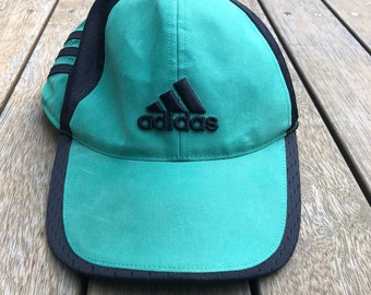 Vintage 90 s Adidas Sportswear Color Block Adjustable Strap Back Cap Retro  Hip Hop Streetwear Summer Adidas Embroidered Snap Back Headwear 0c3c39e11b9d