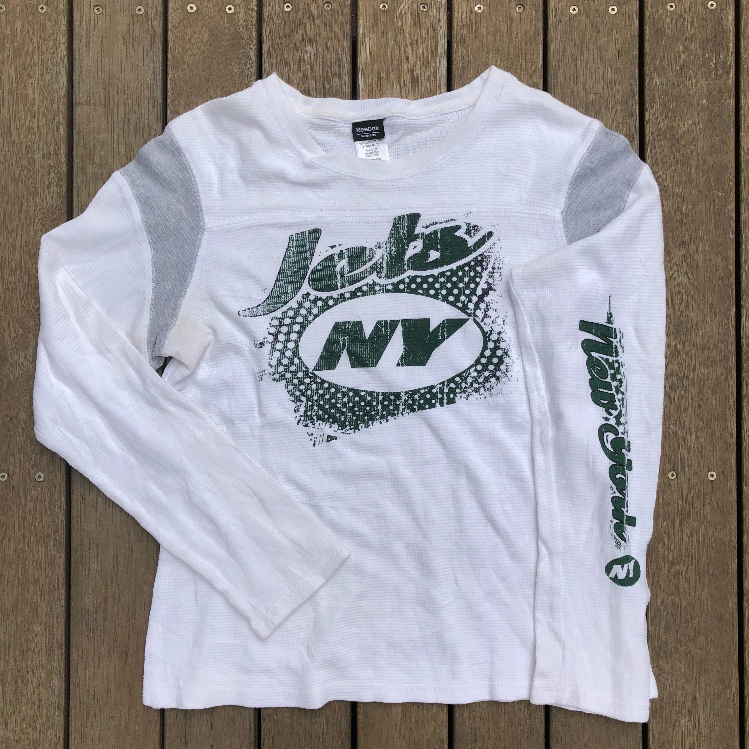 5b5f5e158 Vintage 90 s NFL New York Jets Reebok American Football