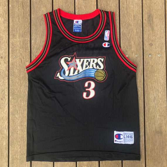 Vintage 90 s NBA Champion Philadelphia 76ers Allen Iverson  c22241179