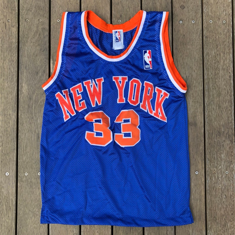 bd140a53193 Vintage 90 s NBA New York Knicks Patrick Ewing Women s