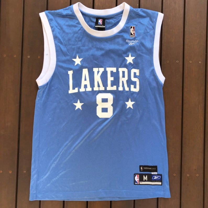 968e9ac73 Vintage 90 s NBA Minneapolis Lakers Medium Kobe Bryant