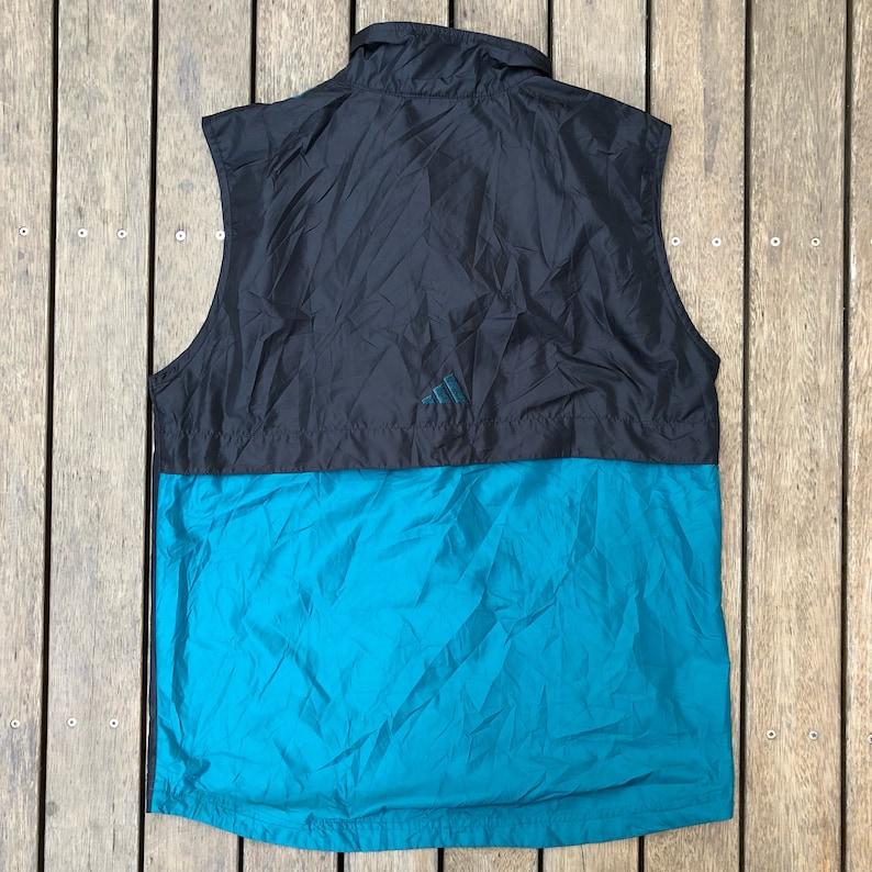 Jahrgang 90er Adidas EQT Sportswear Unisex klein leicht laufend Weste Retro Hip Hop Adidas Streetwear 3 Streifen ärmellose Adidas Jacke