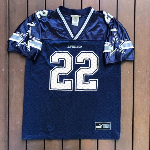 Vintage 90 s NFL Dallas Cowboys Emmitt Smith Puma  95769f30a