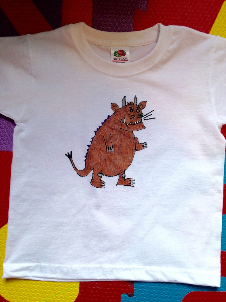 T 3 Shirt Toddler 1 2 Year Painted 4Etsy 3year Hand O8kn0Pw