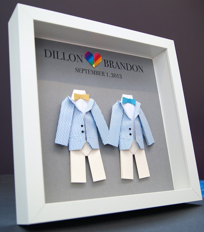gay first dating anniversary gift