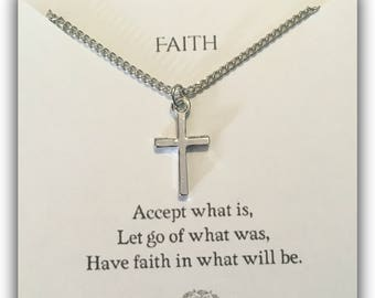 Have Faith Pendant Necklace