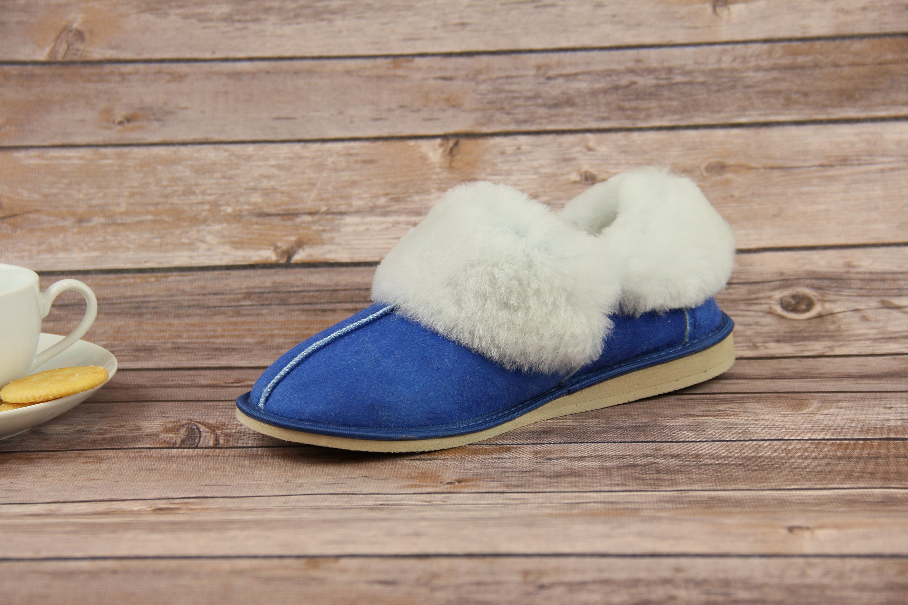 622142a688a Sheepskin Slippers! Real Fur