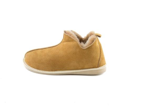 Damen Schaffell HausschuheStiefel! 100 % Leder Fell! jede Jahreszeit, von Menschen, die bequem Stil und einzigartigen Stiefel zu schätzen wissen, die