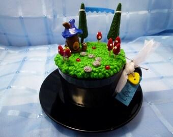 """Teacup Fairy Garden - """"Mini Fae Realm"""" - """"Love"""""""