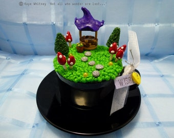 "Teacup Fairy Garden - ""Mini Fae Realm"" - ""Wish"""