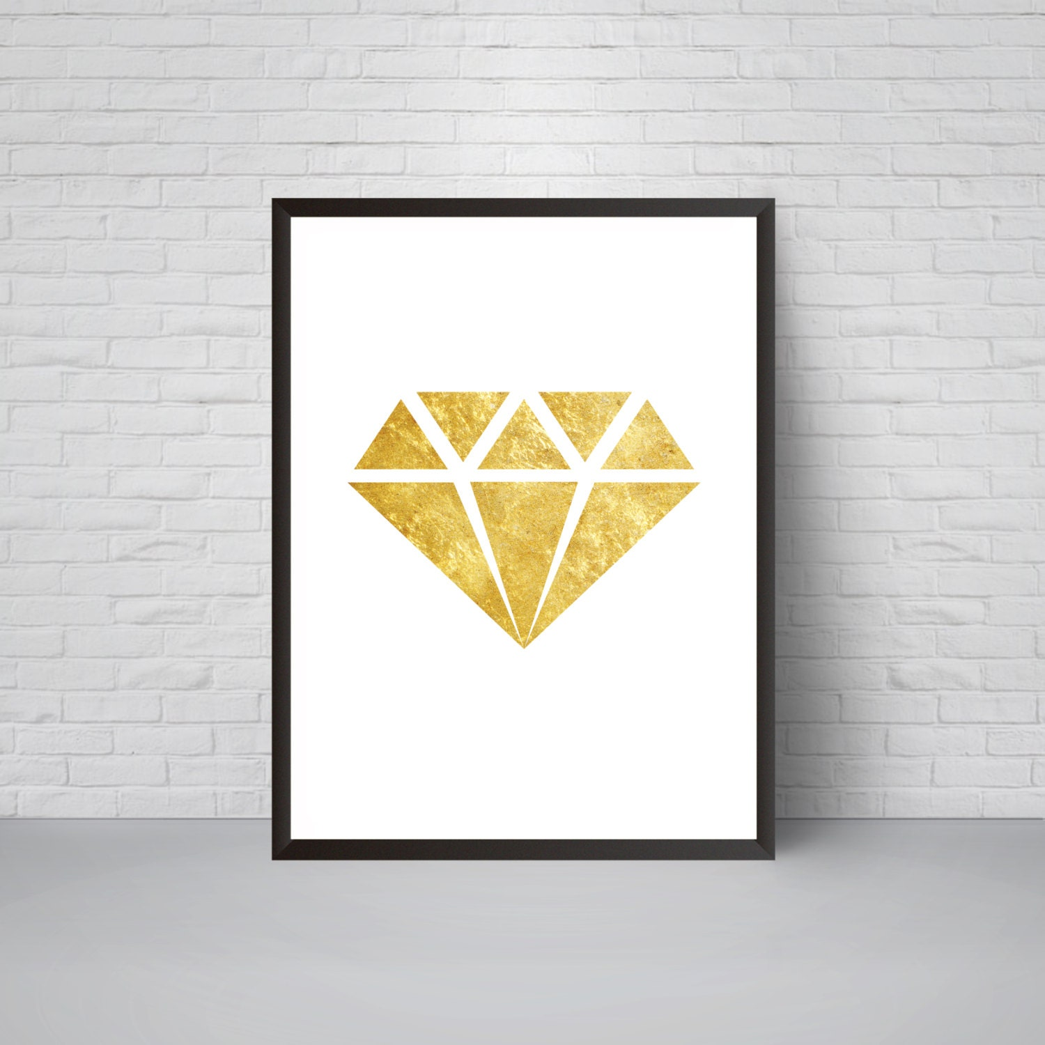 Beautiful Diamond Wall Art Motif - Wall Painting Ideas - arigatonen.info
