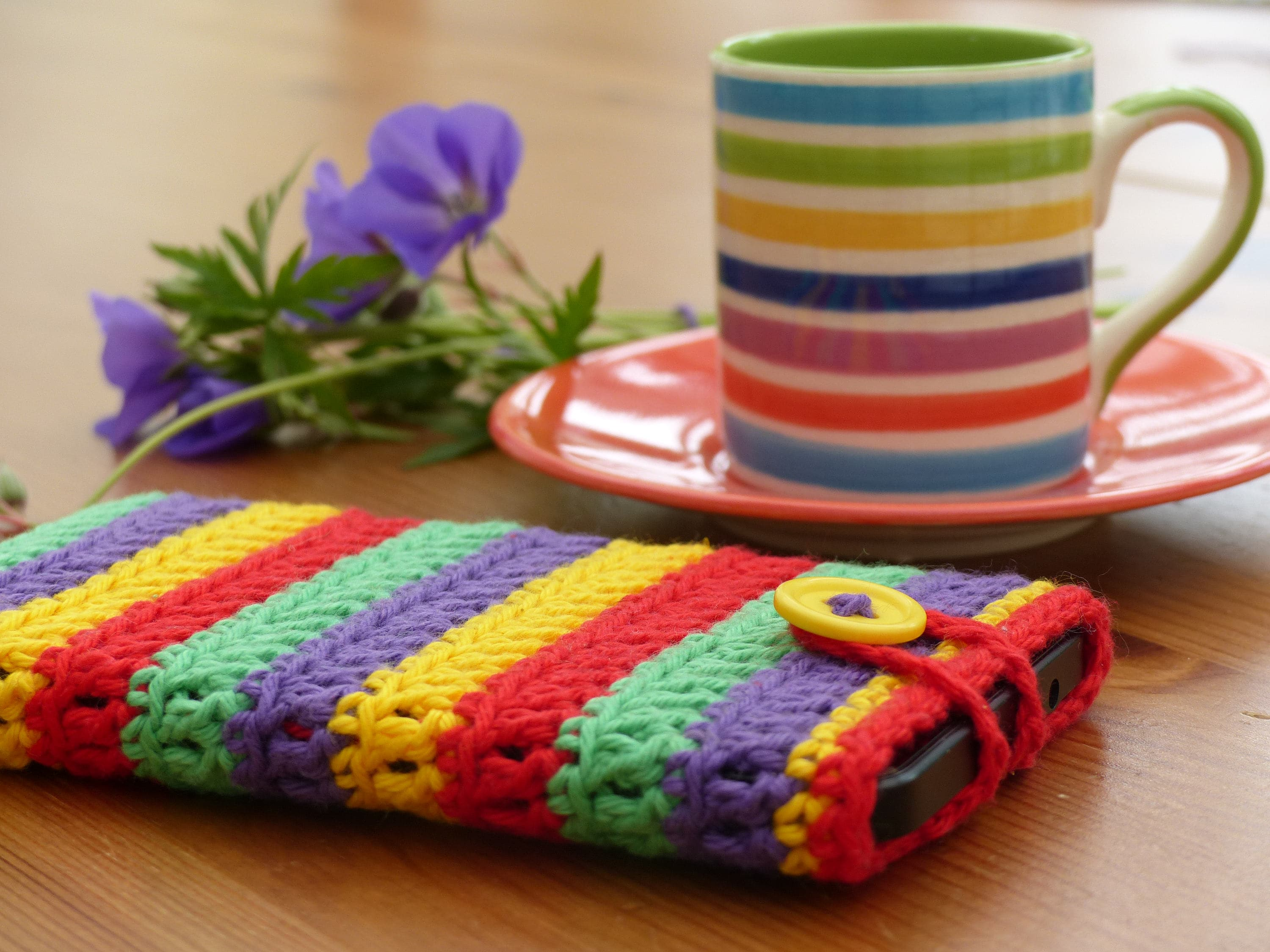 Crochet Pattern For Cell Phone Mobile Phone Case Cotton Etsy