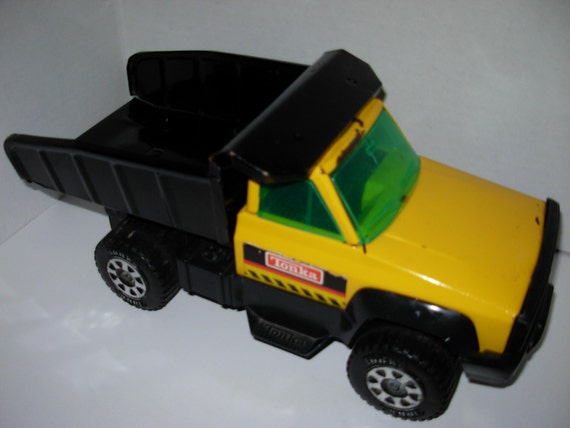 Camion benne tonka 1993 press en plastique m tal acier etsy - Camion benne tonka ...