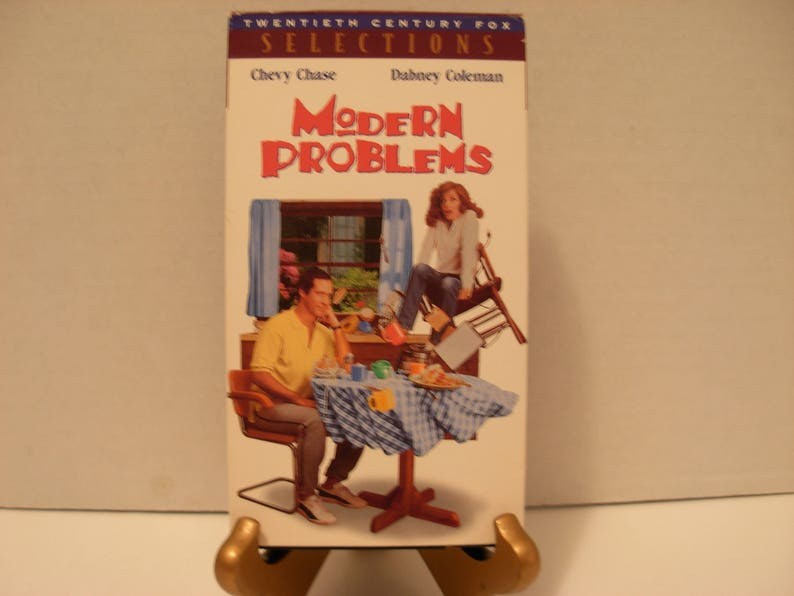 Vhs Tape Modern Problems Chevy Chase Dabney Coleman Color Full Screen Free Shipping