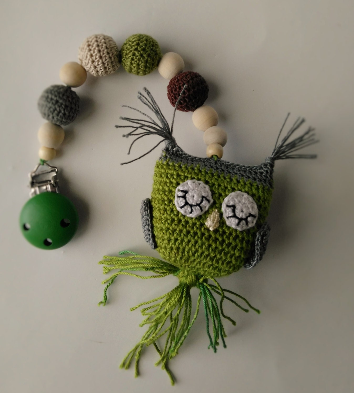 Crochet bebé cochecito buho móvil/silla colgante/ganchillo   Etsy