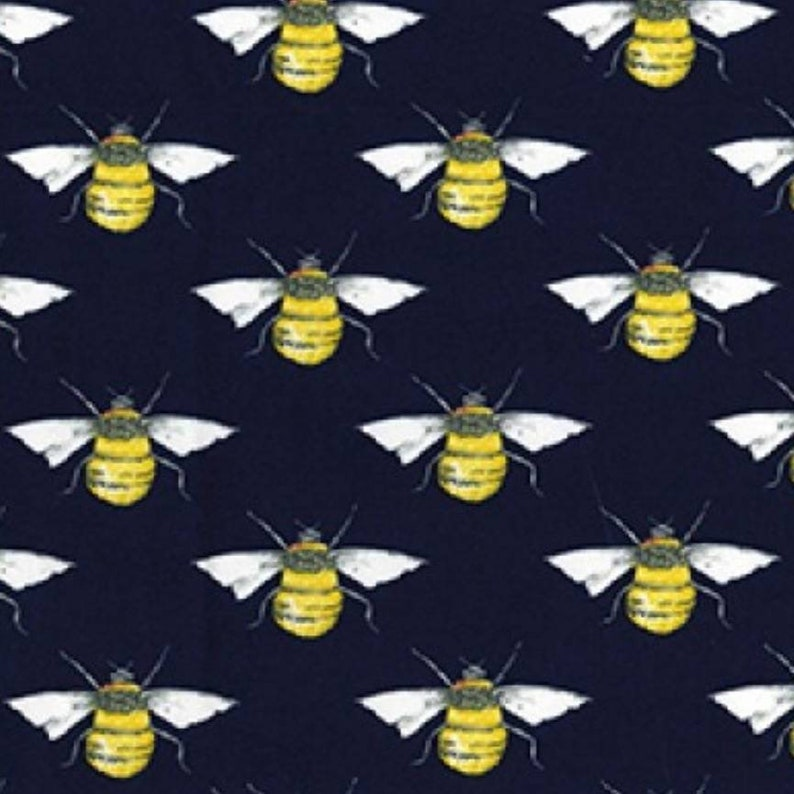 Honey Bees Fabric 100/% Cotton Material