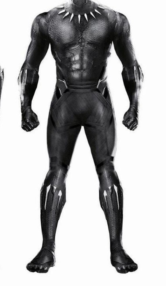 Replica costume Black Panther 2018 ( no accessories )