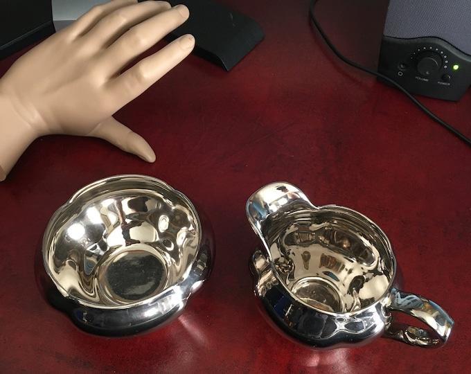 Vintage Royal Winton Creamer and Cup/Bowl